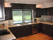 A) .. Kitchen & Bath Remodel: Parkland FL. cabinets. Cabinet Refacing. Full home Renovations