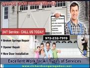 Residential Garage Door Repair in Richardson,  TX | Call (972) 232-7919
